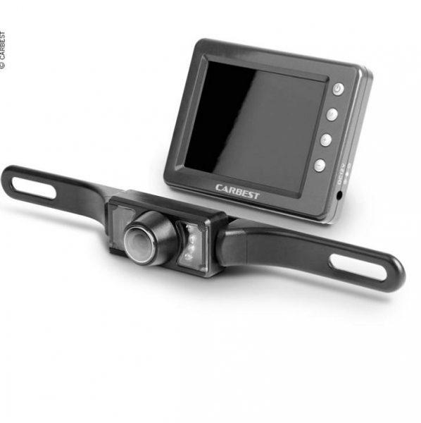 Bezdrôtový kamerový systém CARBEST 12V, kamerový systém na cúvanie v karavane