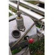 Prepínač AL-KO pre svorku 12mm k podpornému kolesu