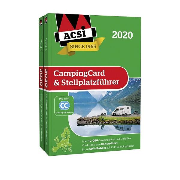 Sprievodca kempingom ACSI Europe 2020 a CampingCard