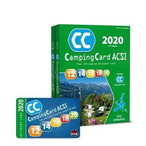 Sprievodca CampingCard ACSI a zľavová karta