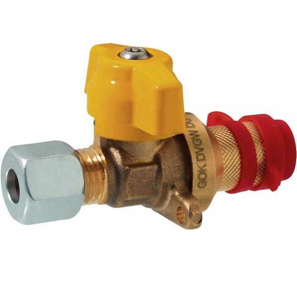 Krátky spojovací ventil s prírubou