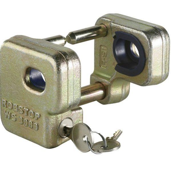 Zariadenie proti krádeži Robstop WS 3000/3000plus, bezpečnostná zámok na karavan, zabezpečenie karavanu