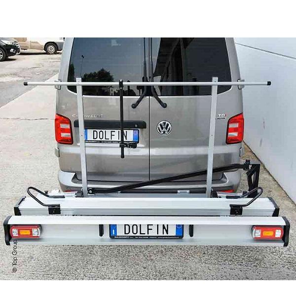 Skladací nosič na motocykel/bicykel DOLFIN