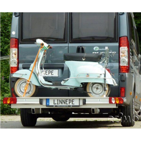Nosič na motocykel Linnepe Slide-Port a Trigger pre Fiat Ducato