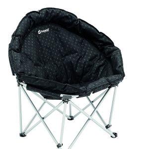 Outwell Skladacia stolička Casilda XL čierna