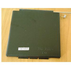 Ochranný kryt Carbest na elektrické zásuvky CEE