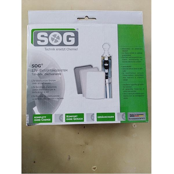 Vetracia sada SOG 3000A, na bočnú stenu