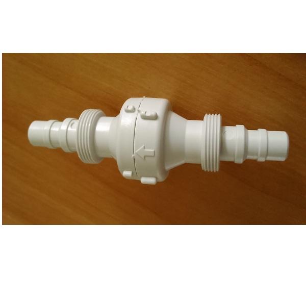 Spätný ventil so závitovou dýzou, 10mm/12mm hadicové pripojenie