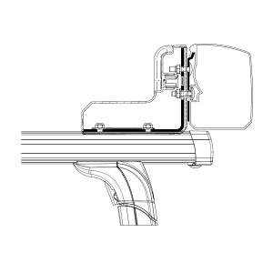 THULE Adaptér na strešný nosič pre markízu Thule 3200