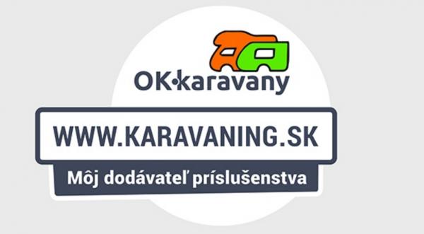 Nálepka karavaning.sk