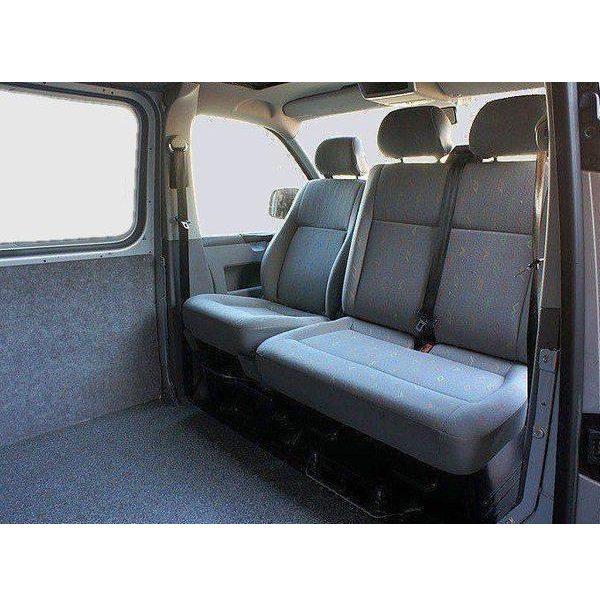 Otočná konzola pre dvojmiestne lavice VW T5 a T6