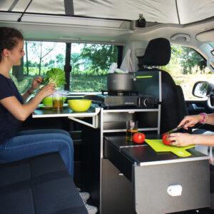 Kuchynský modul CALICOOK pre VW T5/T6 Multivan a California